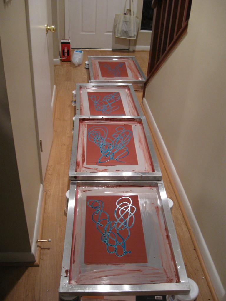 Drying screens