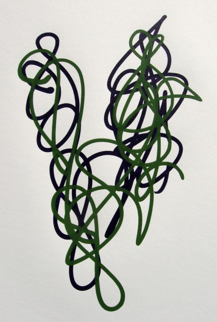 Dioxazine Purple and Chromium Oxide Green